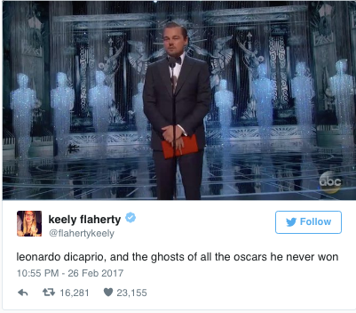 best tweets Oscars
