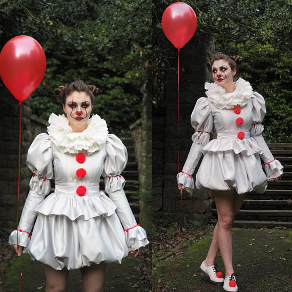 13 last minute costume ideas to inspire you this halloween gossip prepare yourself every man woman and child will be dressed as pennywise from it that shouldnt bother you too much unless you have coulrophobia solutioingenieria Choice Image